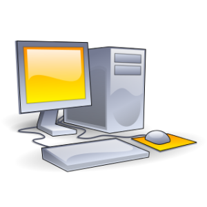 Desktop_computer_clipart_-_Yellow_theme